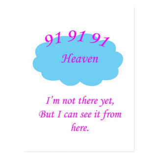 91 Heavenly Postcard