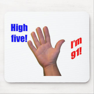 91 High Five! Mouse Pad