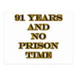 91 ninguna hora de prisión postal