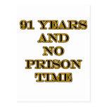 91 ninguna hora de prisión postales