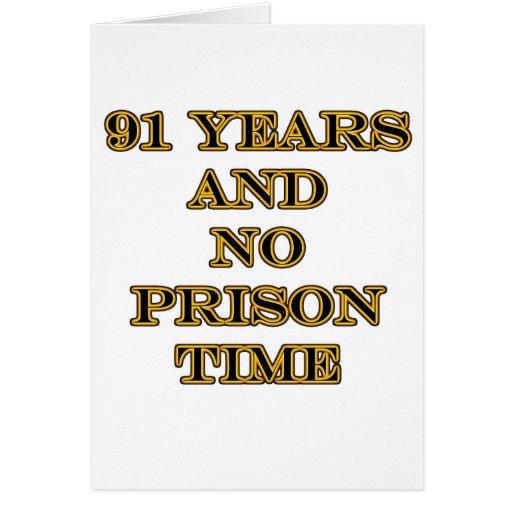 91 ninguna hora de prisión tarjetón