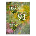 91.o Cumpleaños Felicitaciones