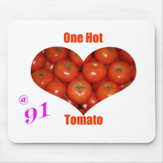 91 One Hot Tomato Mouse Pad