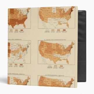 91 Proportions in occupations 1900 Vinyl Binder