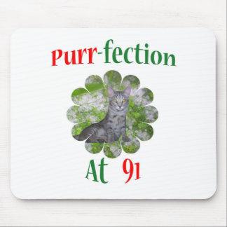 91 Purr-fection Mouse Pad