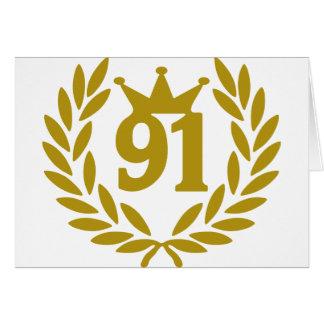 91-real-laurel-crown card