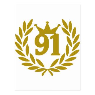 91-real-laurel-crown postcard