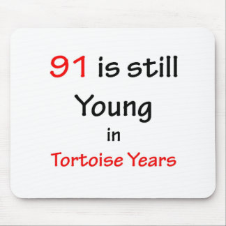 91 Tortoise Years Mouse Pad