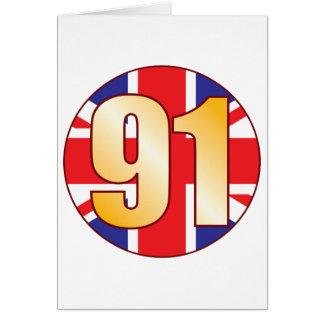 91 UK Gold Card