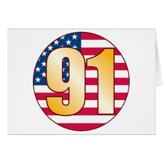 91 USA Gold Card