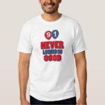 91 year old birthday designs shirt