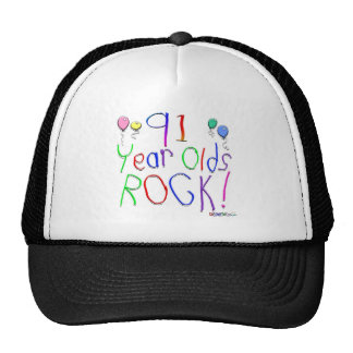 91 Year Olds Rock! Hat