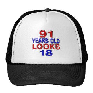 91 Years Old Looks 18 Trucker Hat