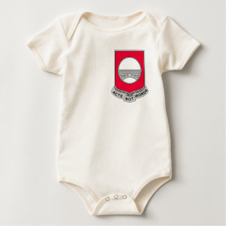 91st Army Engineer Battalion Military Patch Baby Bodysuit