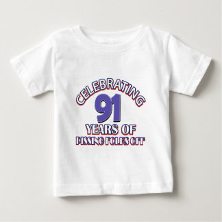 91ST birthday designs Infant T-shirt