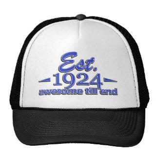 91st birthday designs trucker hat