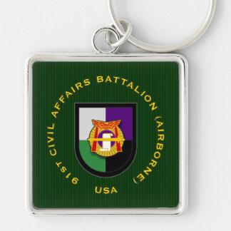 91st CAB - Airborne Key Chains