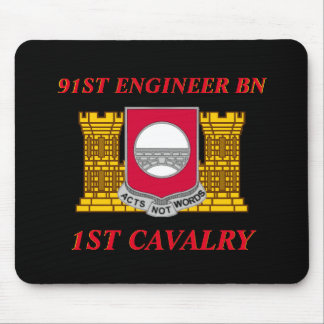 91ST ENGINEER BATTALION 1ST CAVALRY MOUSEPAD