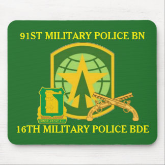 91ST MILITARY POLICE BATTALION MOUSEPAD