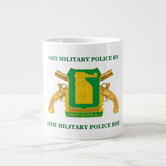 91ST MILITARY POLICE BATTALION MUG