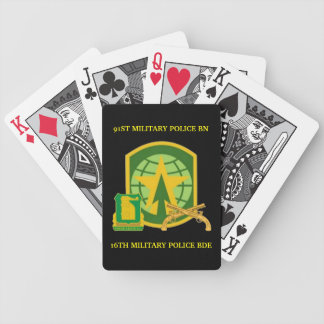91ST MILITARY POLICE BN PLAYING CARDS