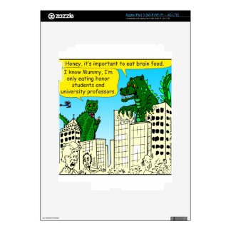 920 Monsters eat honor students for brain food iPad 3 Skins