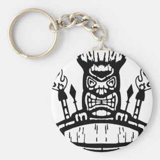 9213032011 Tiki (Rocker & Kustom) Keychain