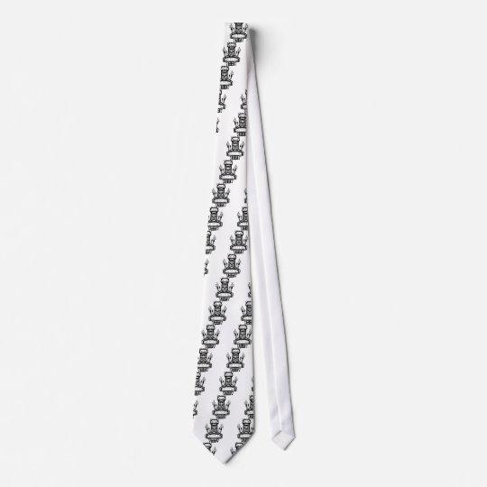 9213032011 Tiki (Rocker & Kustom) Neck Tie