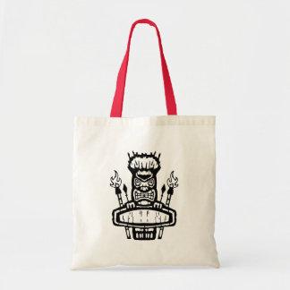 9213032011 Tiki (Rocker & Kustom) Tote Bag