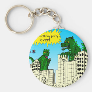 921 best birthday party ever monster said keychain