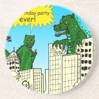921 best birthday party ever monster said sandstone coaster