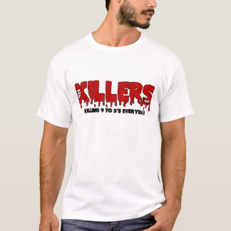 925 Killers White T-Shirt