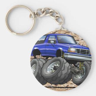 92-96 Blue Bronco Keychain