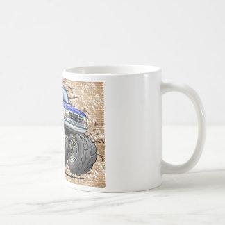92-96 Blue W Bronco Coffee Mug
