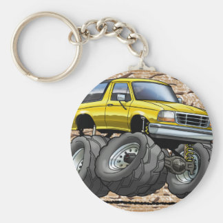 92-96 Yellow Bronco Keychain