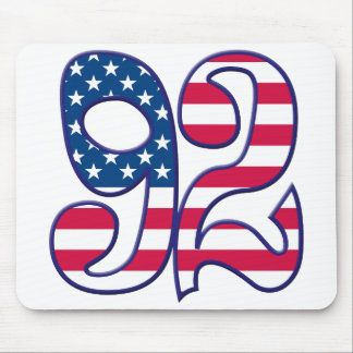 92 Age USA Mouse Pad