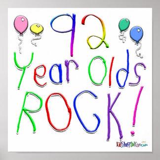 ¡92 años de la roca! impresiones