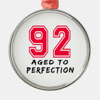 92 envejeció al diseño del cumpleaños de la perfec ornamente de reyes