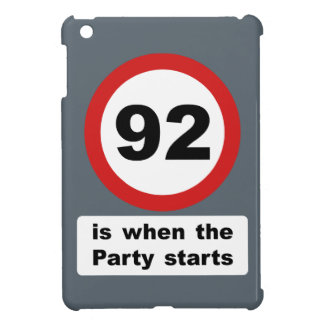 92 is when the Party Starts iPad Mini Covers
