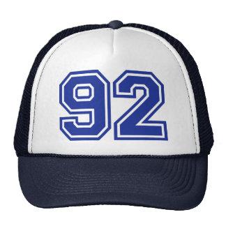 92 - number hat