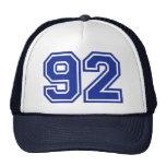 92 - número gorra