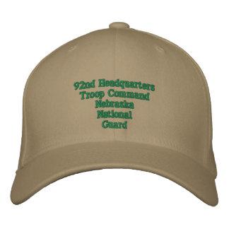 92.o Comando de la tropa del HQ Gorras De Béisbol Bordadas