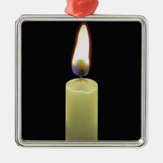 92Candle _rasterized Metal Ornament