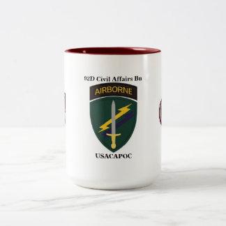 92D Civil Affairs Battalion Mug