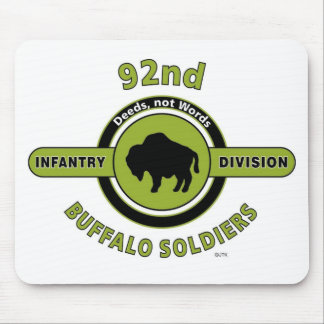 "92ND INFANTRY DIVISION ""BUFFALO SOLDIERS"" MOUSE PAD"