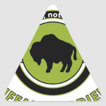 """92ND INFANTRY DIVISION """"BUFFALO SOLDIERS"""" TRIANGLE STICKER"""