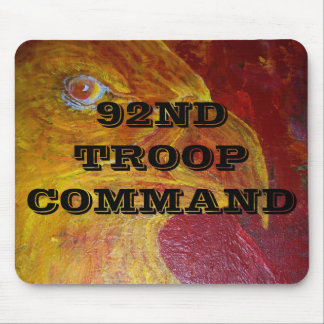 92ND TROOP COMMAND MOUSE PAD