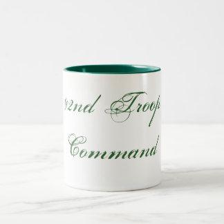 92nd Troop Command Two-Tone Coffee Mug