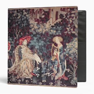 930 The Concert Tapestry from Arras 1420 3 Ring Binder