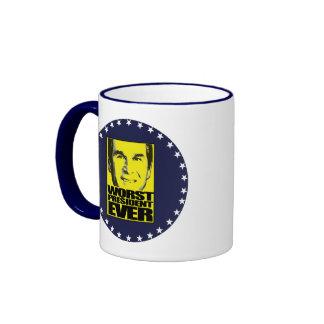 930worstyellow ringer coffee mug